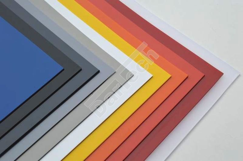 colored pvc sheets