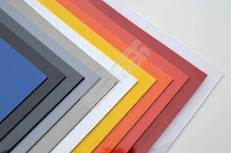 plasticized pvc sheets colored opaque