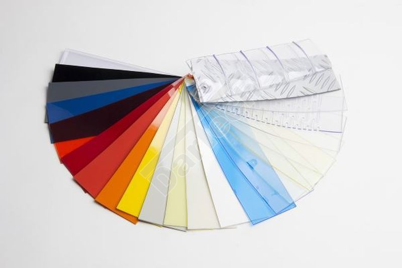pvc strip color samples