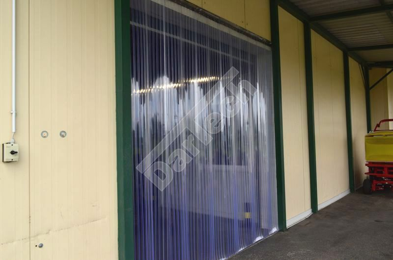 Plastic Door Strips >> PVC strip curtains | Dartech