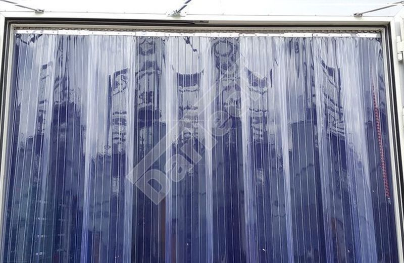 refrigerated truck plastic strip curtains