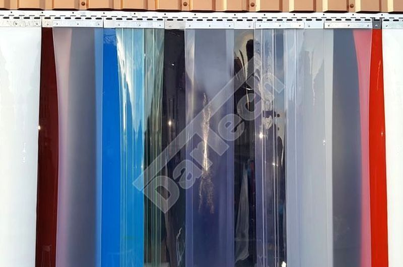 colored pvc curtain
